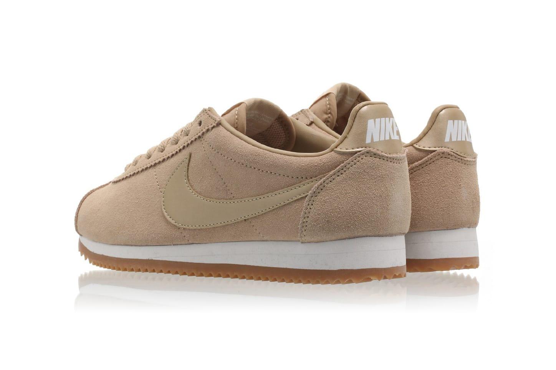 Nike Classic Cortez Suede Mushroom Is a