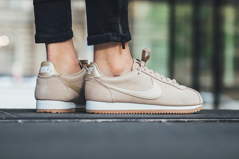 Nike Classic Cortez Suede Mushroom Is a Good Nude  c94f9b138