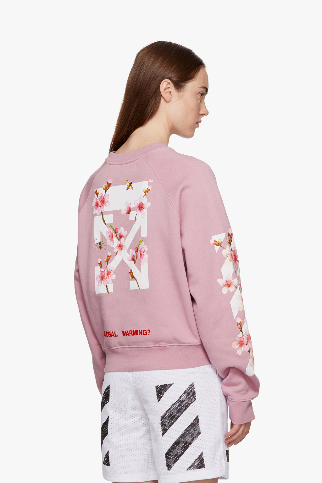 Cherry Blossom Hoodie in Pink