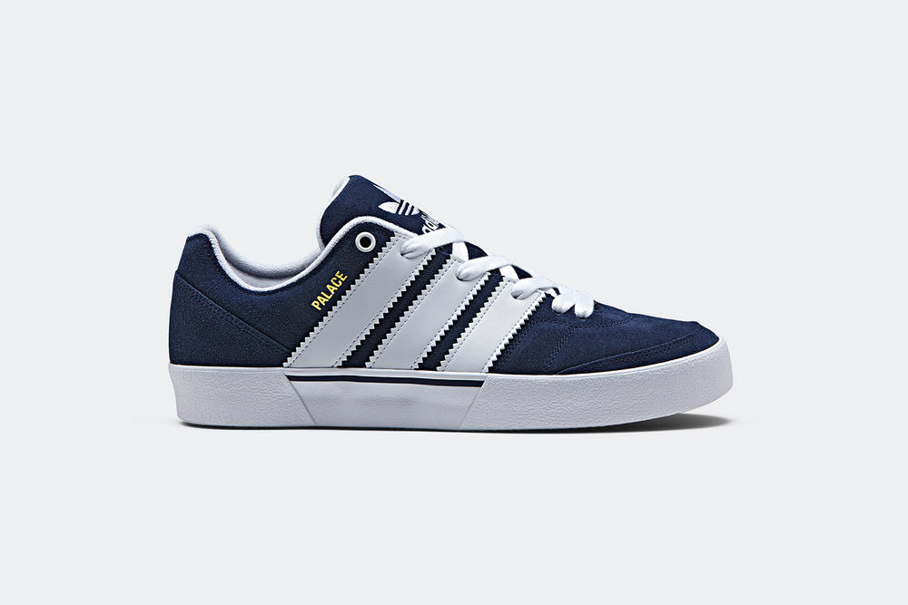palace adidas originals o'reardon skate suede black navy green three stripes