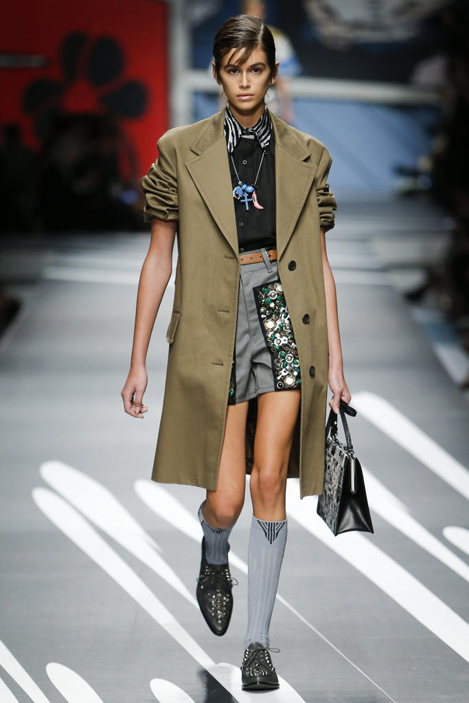 Prada Spring Summer 2018 Collection Milan Fashion Week Business Chic Modern Edgy