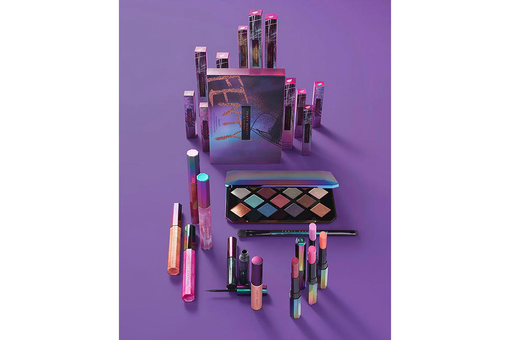 Rihanna Fenty Beauty Holiday 2017 Collection Makeup Cosmetics Christmas Eyeshadow Palette Glitter Shimmer Paris