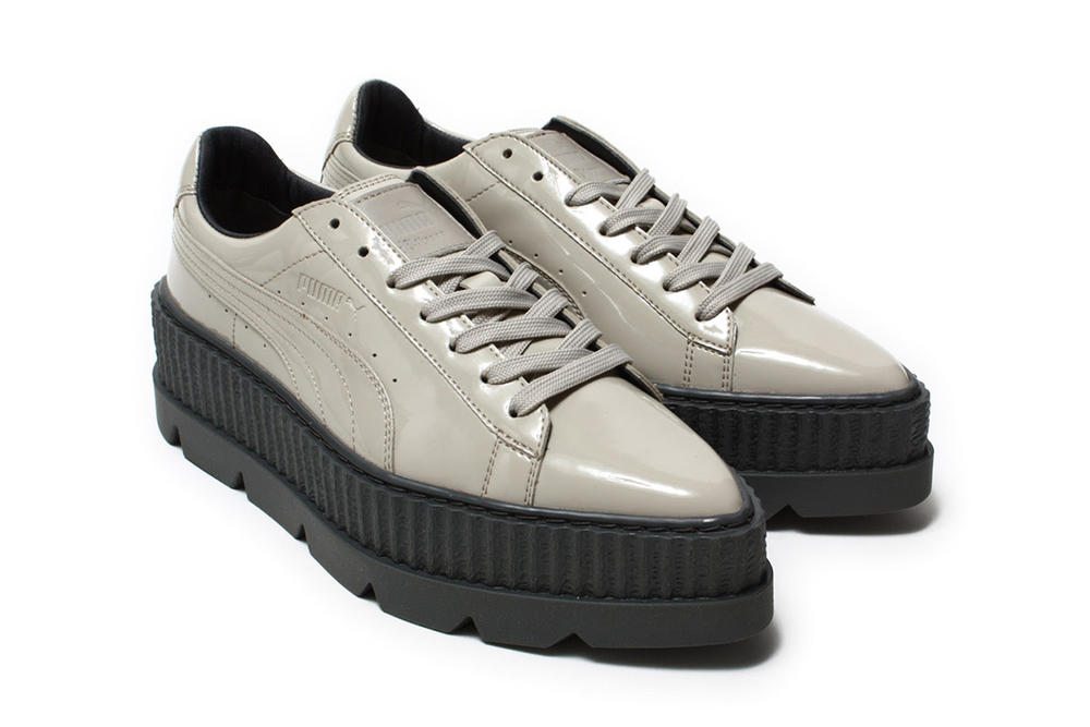 sports shoes 65e57 52d7c Fenty PUMA by Rihanna Pointy Creeper in Dove | HYPEBAE