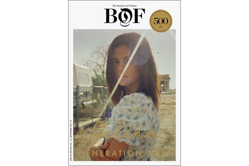 Selena Gomez interview BoF business of fashion