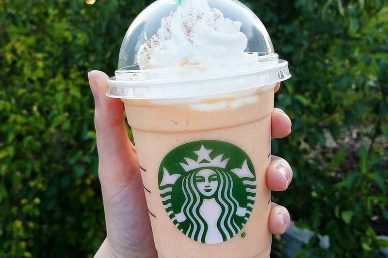 Starbucks Secret Menu Pumpkin Spice Latte Cheesecake Frappuccino PSL Autumn Fall 2017 Instagram