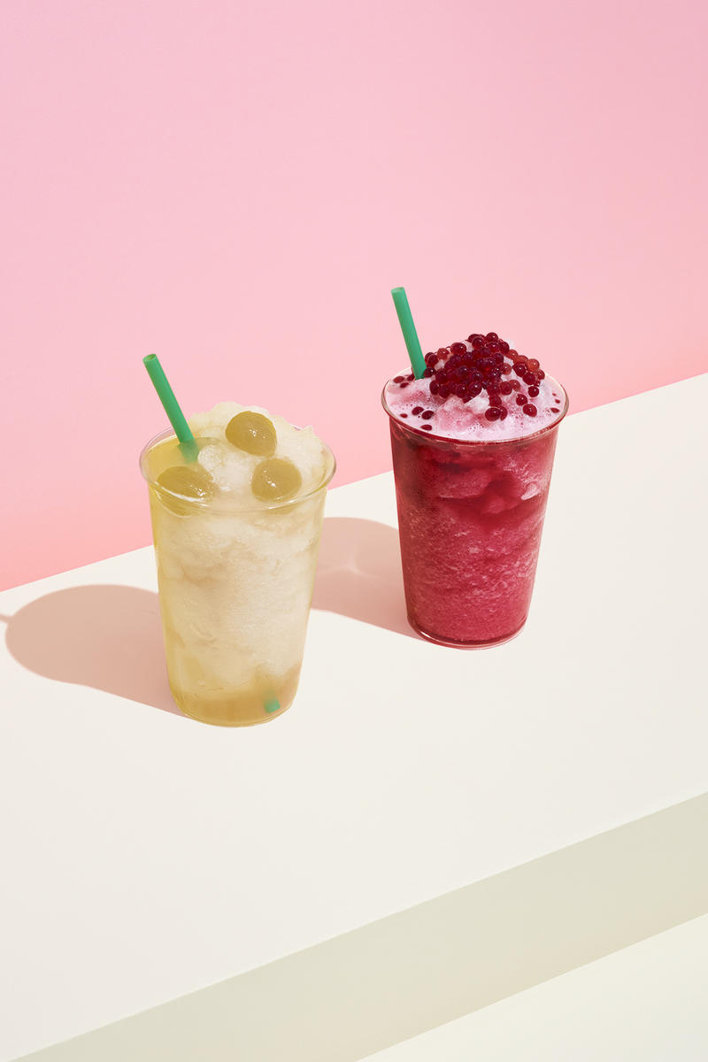 Starbucks Teavana Frozen Tea