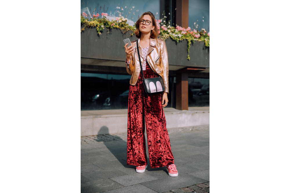 Stockholm Fashion Week street style photography