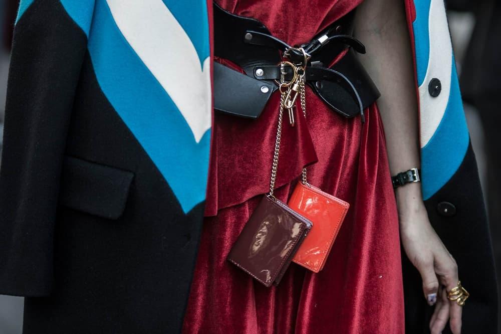Milan Fashion Week Streetsnaps Gucci Balenciaga Sita