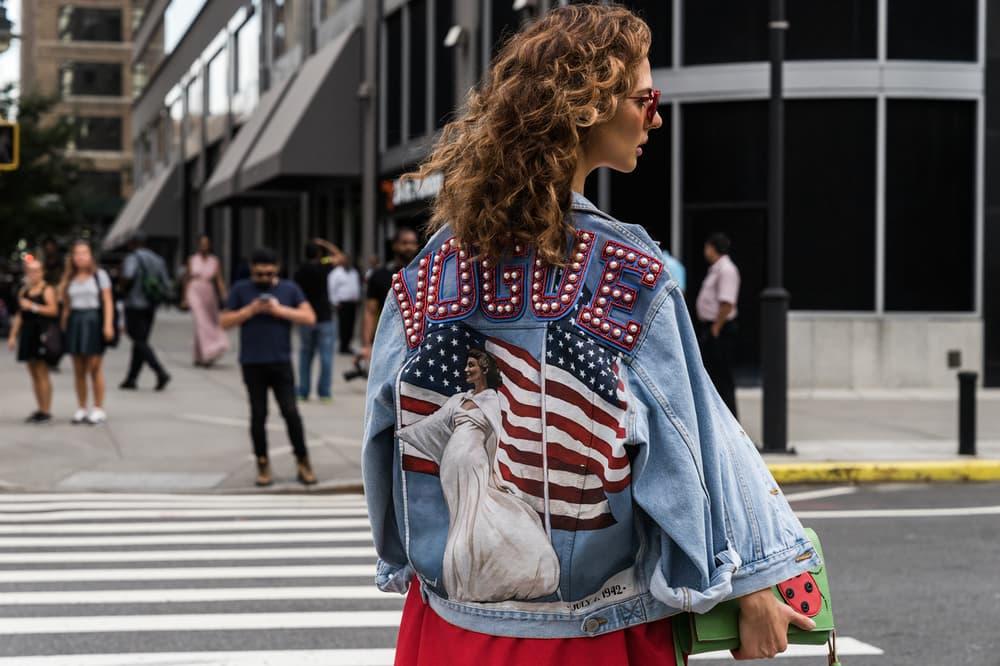 Streetsnaps New York Fashion Week Supreme Louis Vuitton Dior