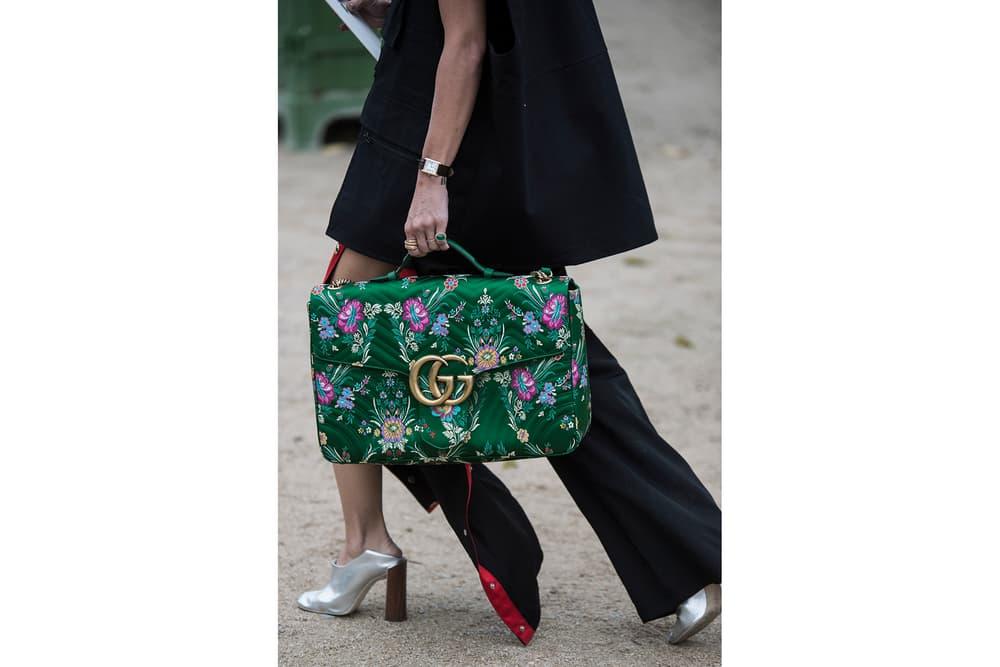 Paris Fashion Week Streetsnaps Sita Abellan Irene Kim Aimee Song Loewe Gucci Lacoste PFW 2018 Spring Summer