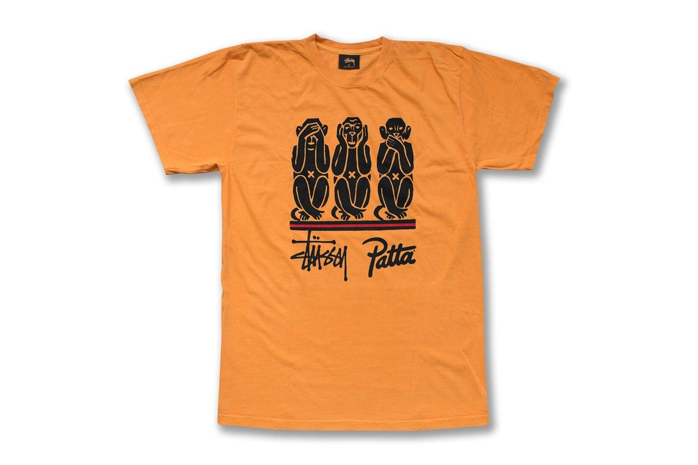 e732b56669 Patta x Stussy T-Shirts for New Chapter Store | HYPEBAE