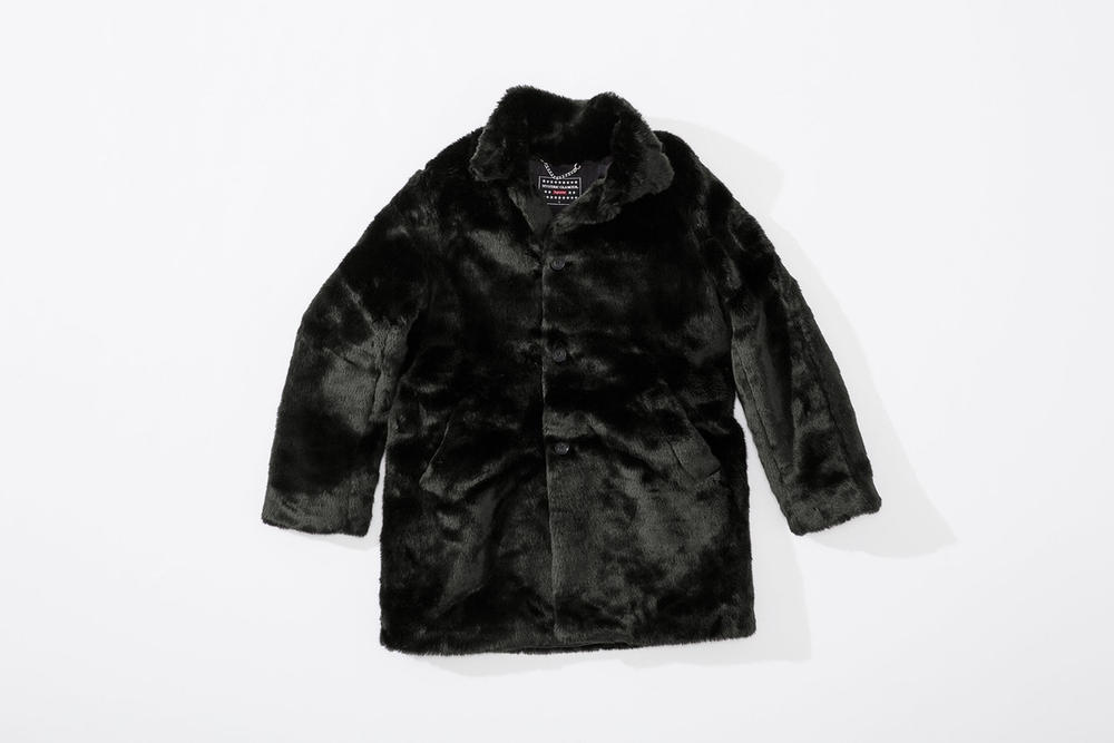 Supreme HYSTERIC GLAMOUR Lookbook Collection 2017 Fall Winter Fur Jacket Fuck You Mug Duvet Pillow