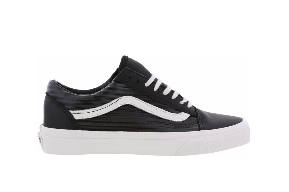 Vans Old Skool Sk8-Hi sneaker black moto leather