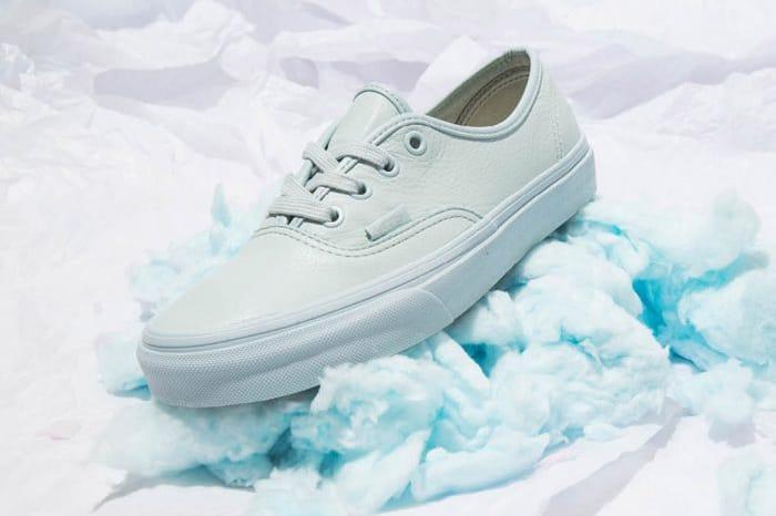 Vans Launches Minimalist Pastel Leather