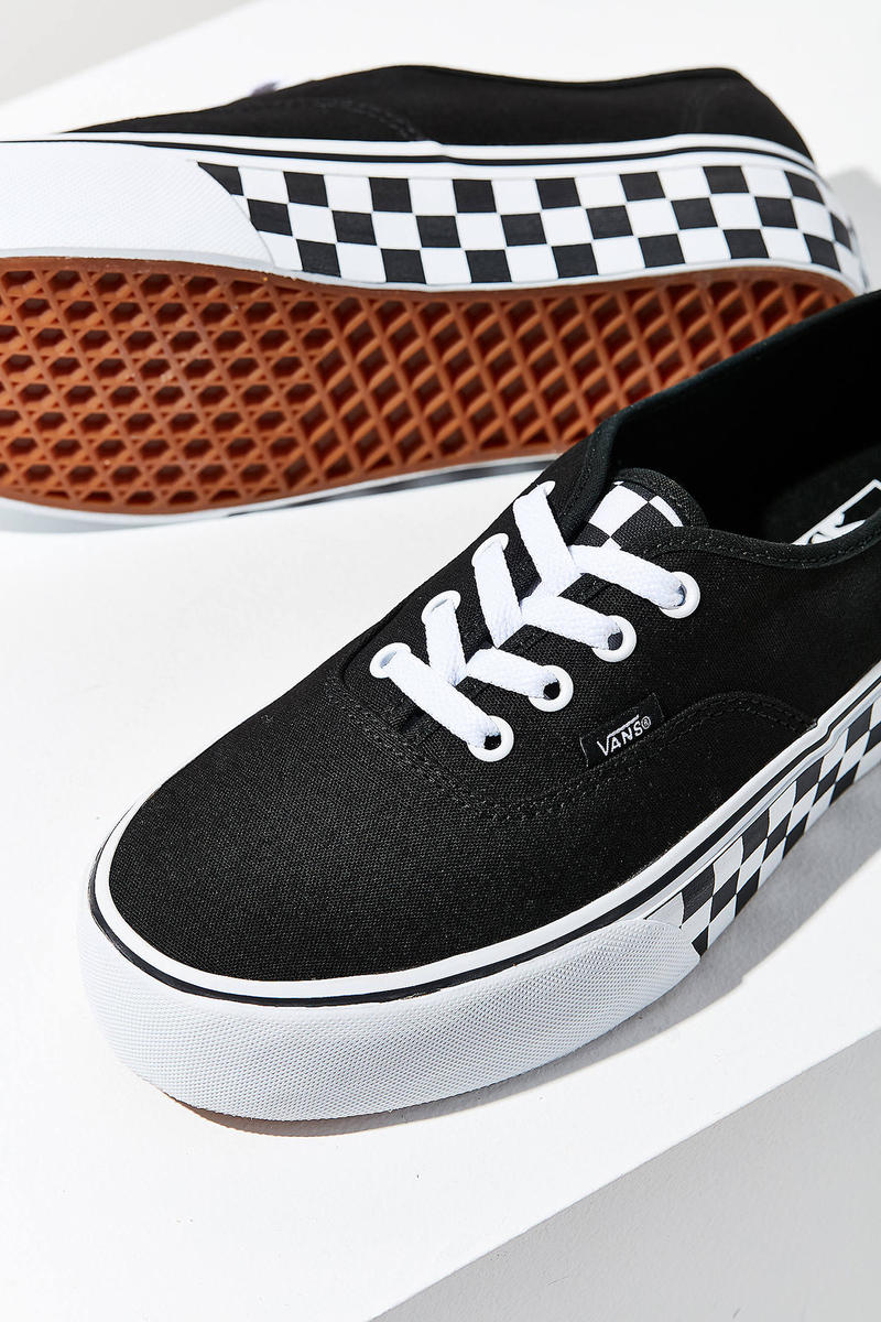 vans urban outfitters uo exclusive authentic platform checkerboard skate