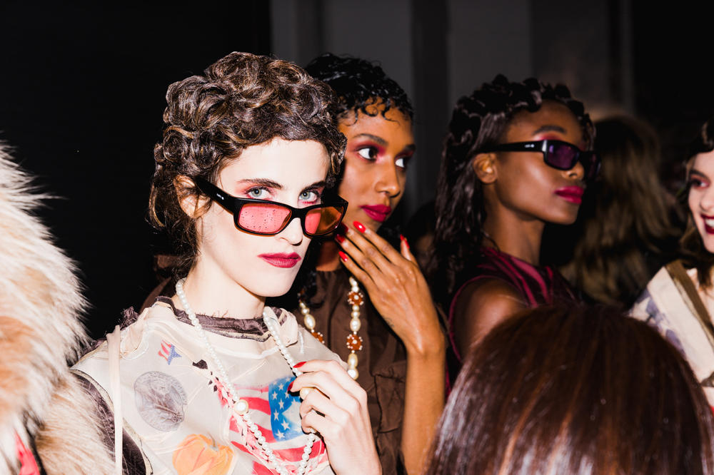 VFILES Backstage NYFW New York Fashion Week Runway Spring 2018 Ready To Wear Season 9