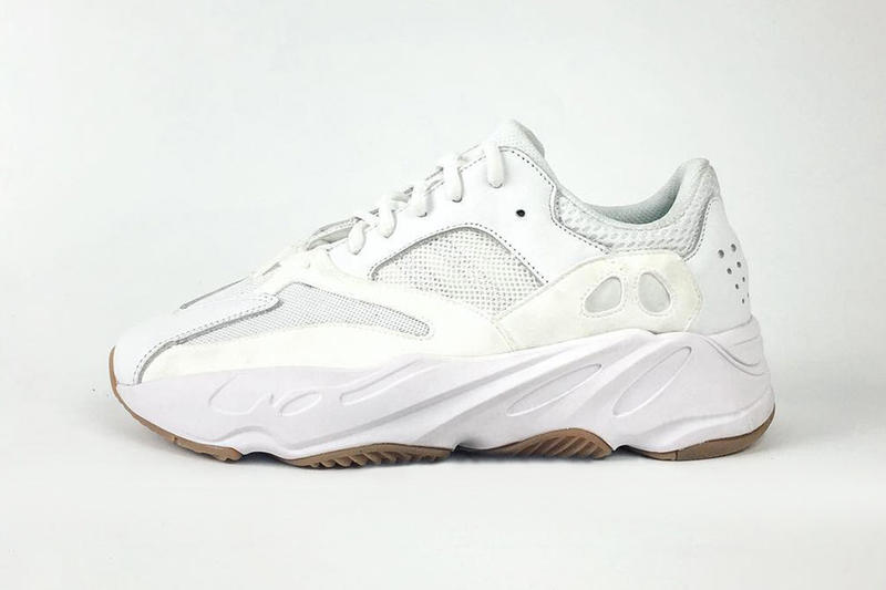 39e3d5f122c YEEZY BOOST 700 Kanye West Wave Runner Triple Black White Gum Sole Adidas  YEEZY Sneakers Shoes