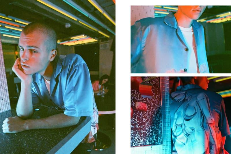 Hajime Sorayama HBX Club Sorayama Collaboration Pop-Up Artist Retro Futuristic Capsule Collection HBXWMN  Editorial Lookbook Fashion
