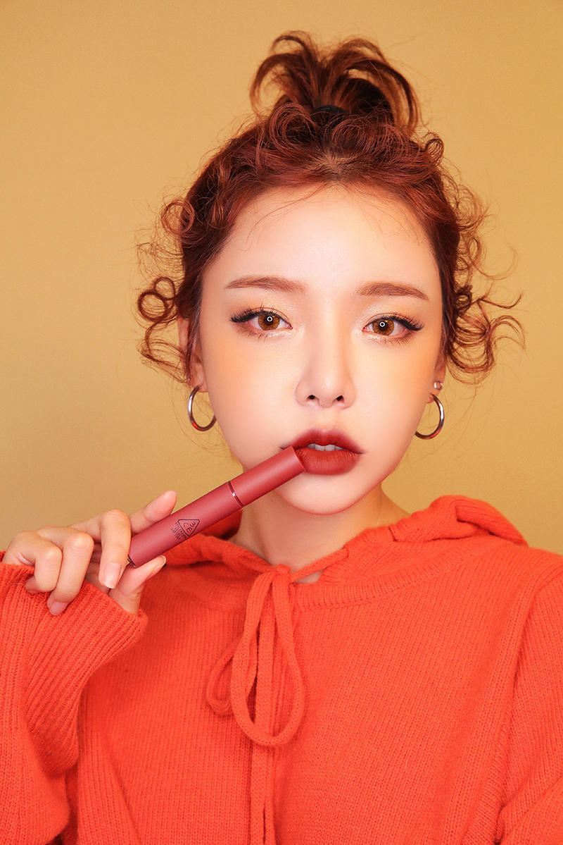3CE Velvet Lip Tint Lipstick Style Nanda Korea K-Beauty Seoul