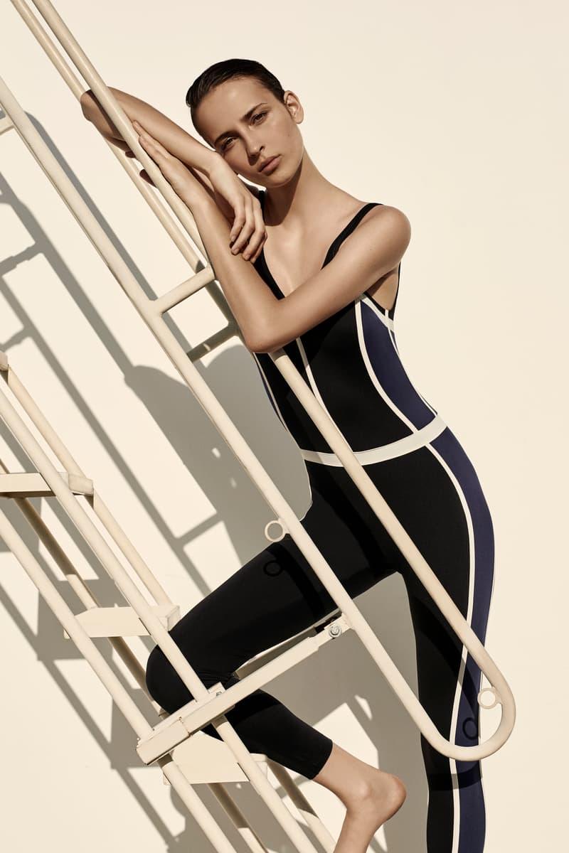 Ernest Leoty Activewear Brand Parisian Paris Corset Inspired Basic Pieces Feminine Active Leggings Workout Women SIlhouette