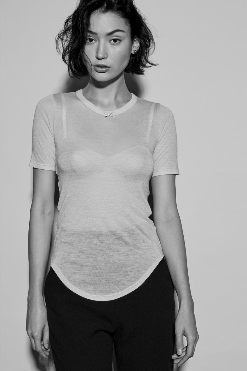 Frances de Lourdes Fall/Winter 2017 Collection Minimalist Perfect T-Shirt Staple Pieces Vintage Simple Versatile Design Timeless Easy