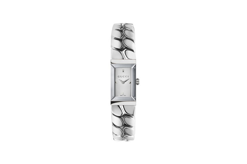 Gucci Watch Time Piece G-Frame Accessory Jewelry Color Silver Minimal Collection Wrist Minimal Classic