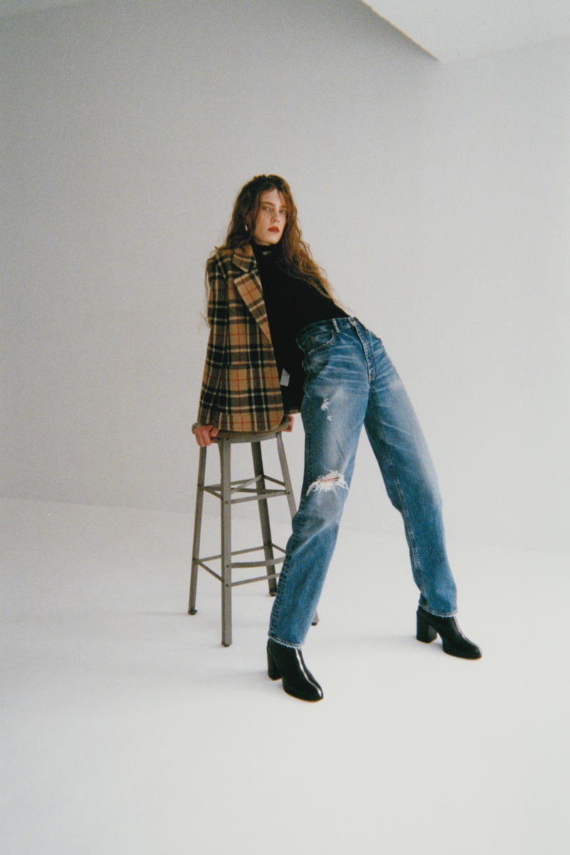 MOUSSY Global Standard Jeans Denim Collection Capsule Collection Indigo Straight Flare Wide Straight Skinny Tapered Mid-Rise