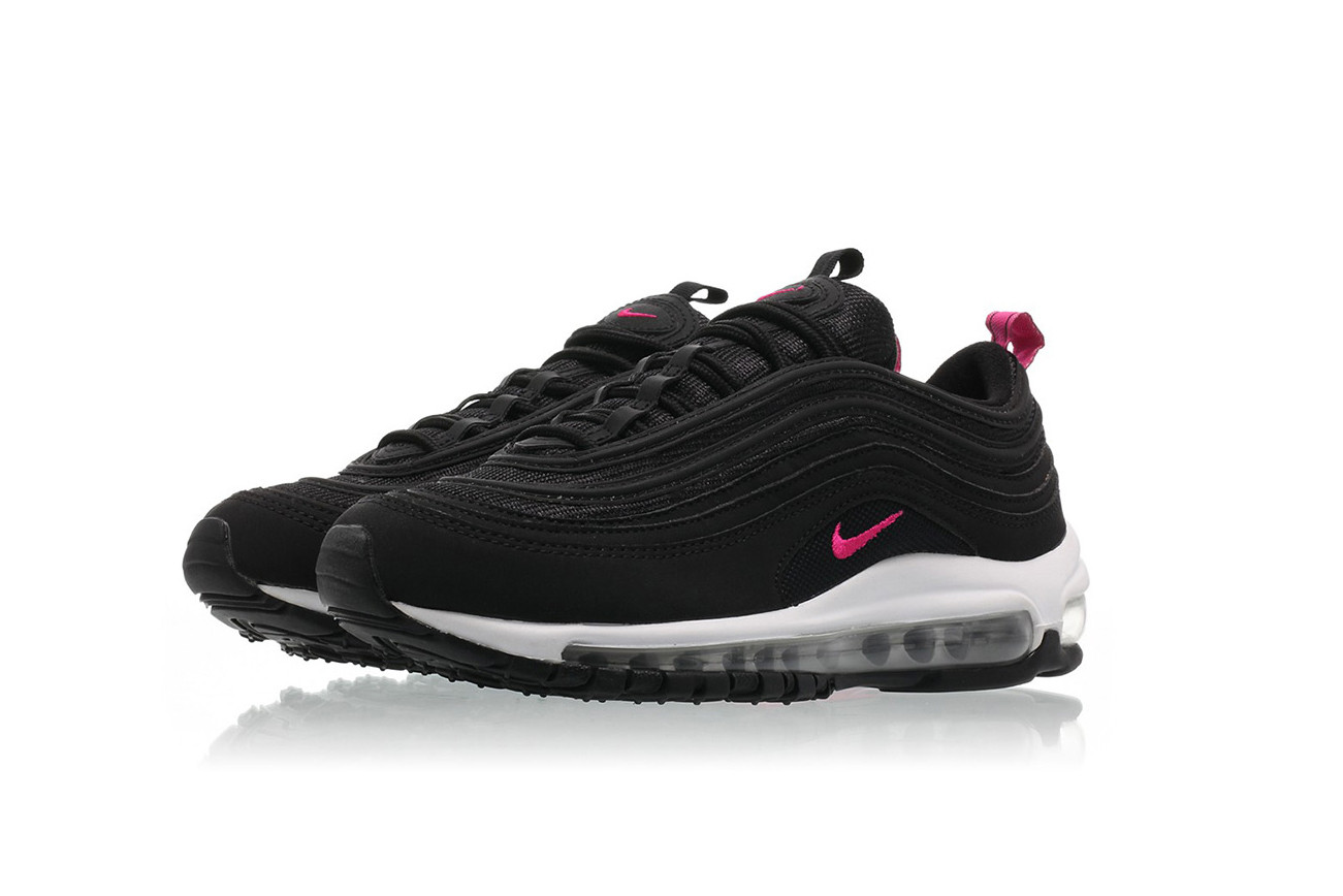 pink and black 97 air max