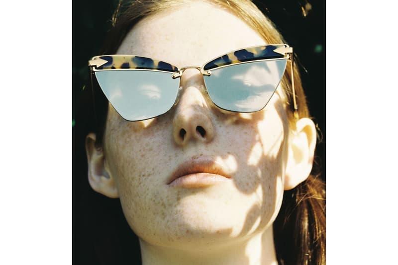 Karen Walker Shadow Play Eyewear Collection Sunglasses Frames Shades Metal Soft Tinted Glass