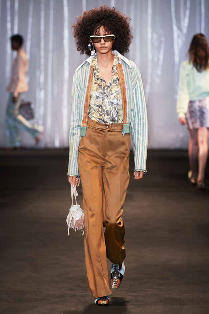 Acne Studios Spring Summer 2018 Runway Show PFW Paris Fashion Week Collection Sweden Adwoa Aboah