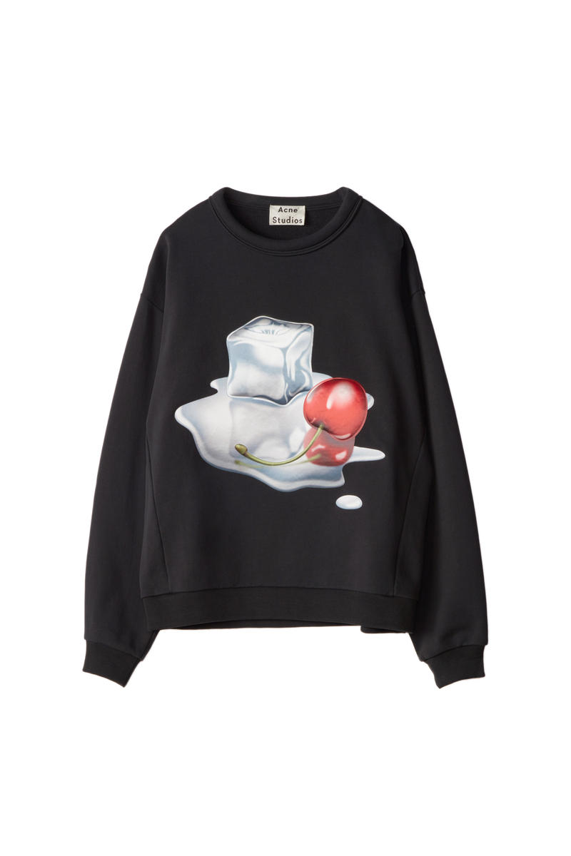 Acne Studios Diner Capsule Collection Clothes Accessories Limited Edition Lipstick Cherry Food Inspired American Fashion