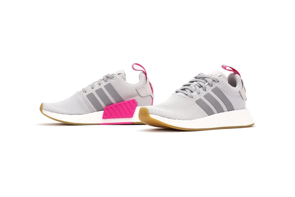 2d01f8c85374e adidas Releases NMD R2 in Grey and Shock Pink