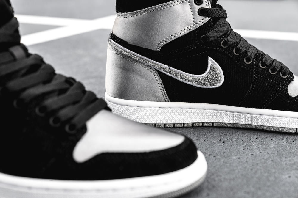 Aleali May Air Jordan 1 High Shadow Satin