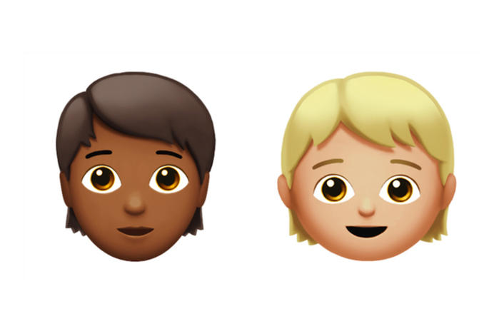 Apple iOS 11 Update Gender-Neutral Emoji Representation Equality New iPhone Emoticons First