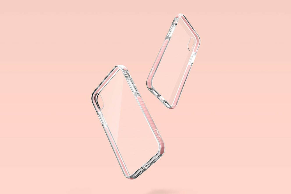 Casetify iPhone X Phone Case Pink