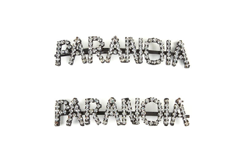 Ashley Williams Paradise Paranoia Hair Pin Crystal