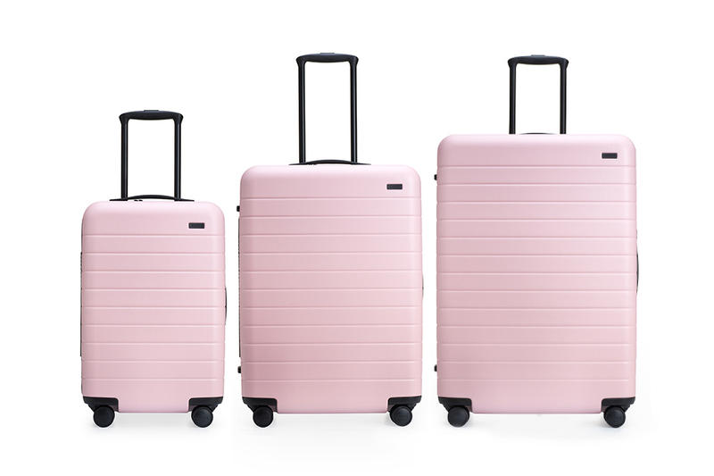Away Blush Pink Suitcase Millennial Pastel Carry On Travel Luggage Restock