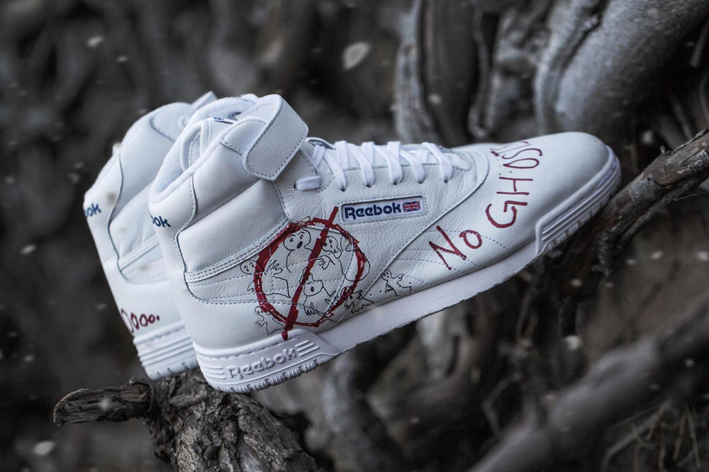 Stranger Thing Ghostbusters BAIT Reebok Ex-O-Fit Clean Hi
