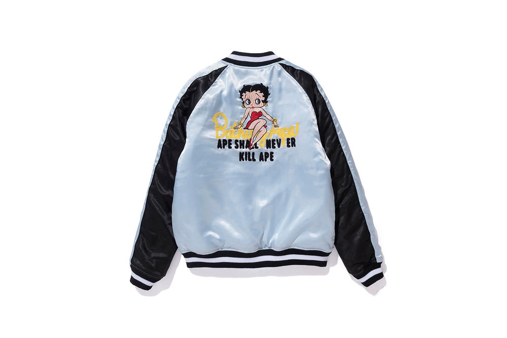 fed2f0ad3fd0 Every Item in Betty Boop x BAPE Collection