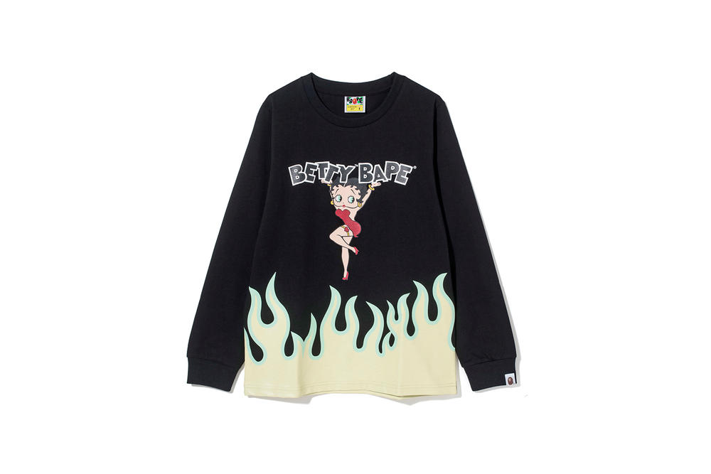 Betty Boop x BAPE Collection