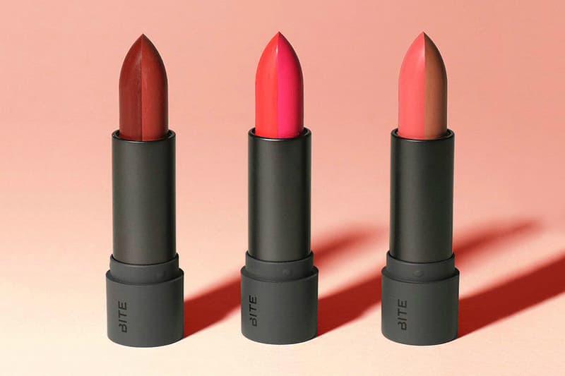 BITE Beauty Amuse Bouche Two Toned Lipstick Makeup Natural Canada