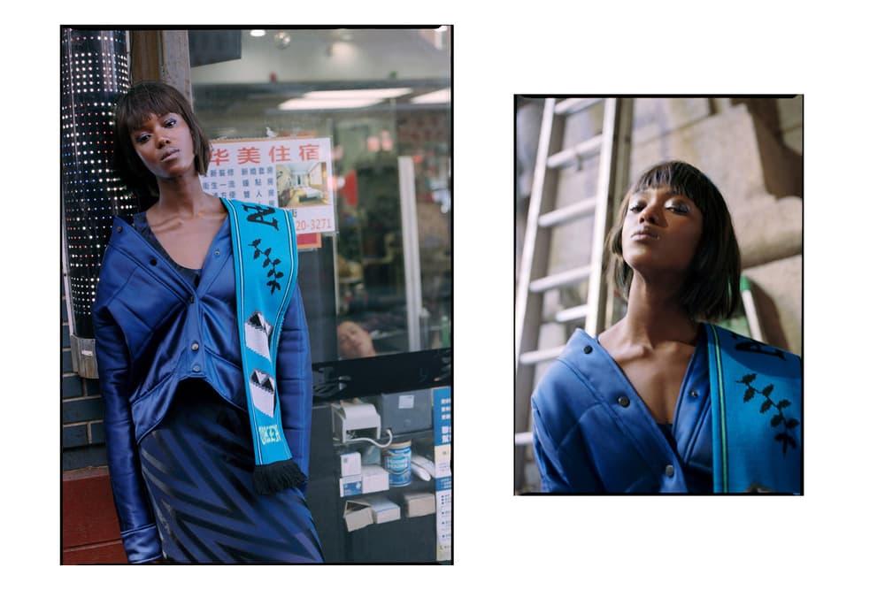 Schön! Editorial Fashion Expedition Downtown NYC New York Photography MM6 Maison Margiela Nike Stone Island Uniqlo Diane Von Furstenberg