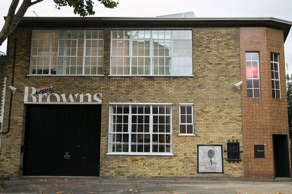 Browns East London Store Shop Vetements Gucci Off-White Raf Simons Brands Luxury Curated Shopping Fashion High End Retailer