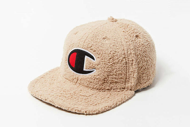 Champion Sherpa Baseball Cap UO Hat Urban Outfitters Fuzzy Furry