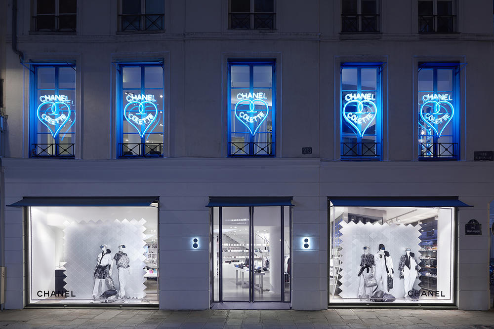 6a6ae7535e Chanel x colette Pop-up Paris Pharrell adidas Hu NMD Shoe Release