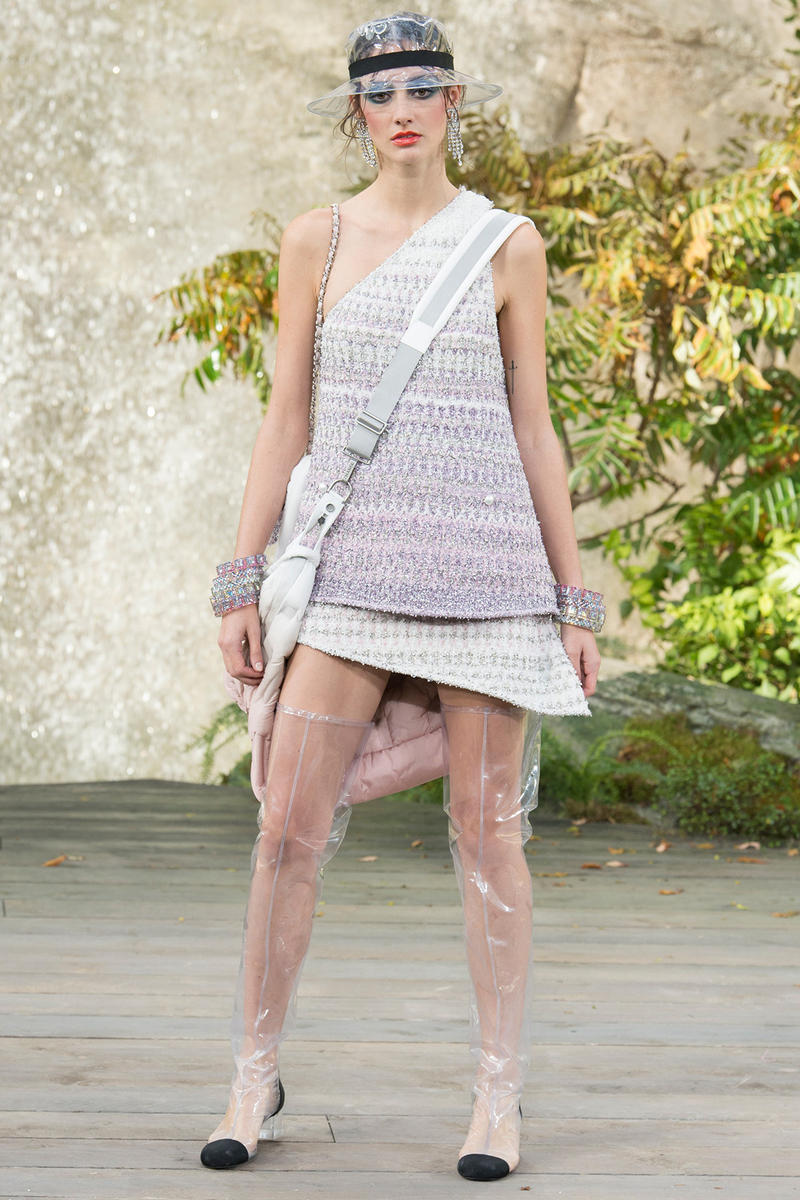 Chanel Spring Summer 2018 Collection Adwoa Aboah