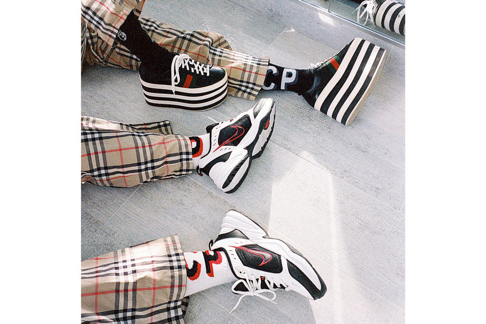 Christina Paik the Hundreds Sock Collection Interview Black White Edgy Film Photography Footwear