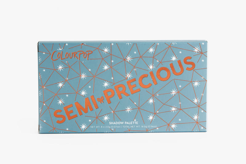 ColourPop Exclusive Sephora Collection Semi Precious Eyeshadow Palette Colour Shades Makeup Eyes Beauty Favorites Pigment Cosmetics