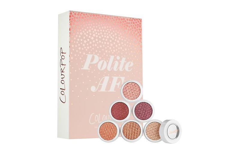ColourPop Sephora Exclusive Collection Polite AF Eyeshadow Beauty Makeup Cosmetics Bronze Eye Shades