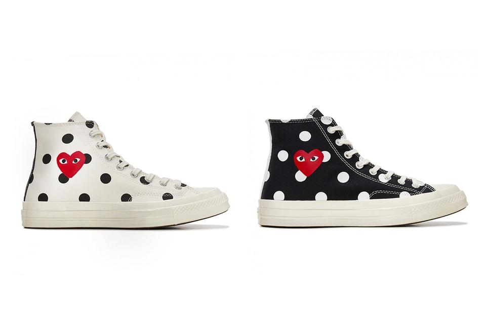 gedachten over nieuwe stijlen geweldige prijzen CdG x Converse's Polka Dot Chuck Taylor Has Restocked | HYPEBAE